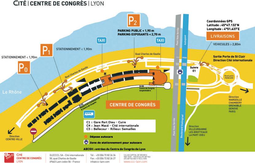 Centre des Congrès Lyon France